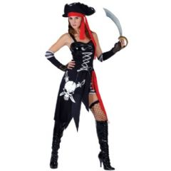 Buccaneer Beauty Pirate Costume